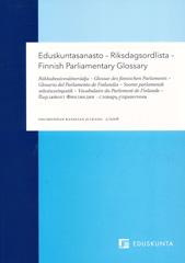 Glosariodel ParlamentoEduskuntasanastoFinnish ParlIamentary Glossary