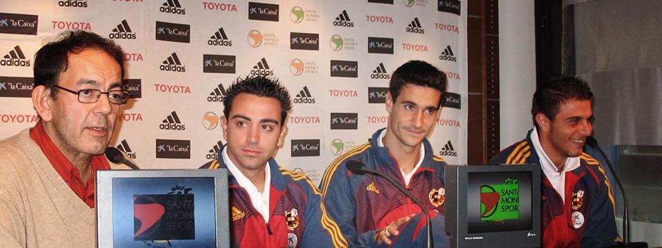 Con la Selección Española