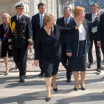 Teija Potenze interpreta a las presidentas Tarja Halonen (Finlandia) y Michelle Bachelet (Chile). Teija Potenze presidentti Tarja Halosen ja presidentti Michelle Bacheletin (Chile) tulkkinaInterpreter of Presidents Halonen (Finland) and Bachelet (Chile).